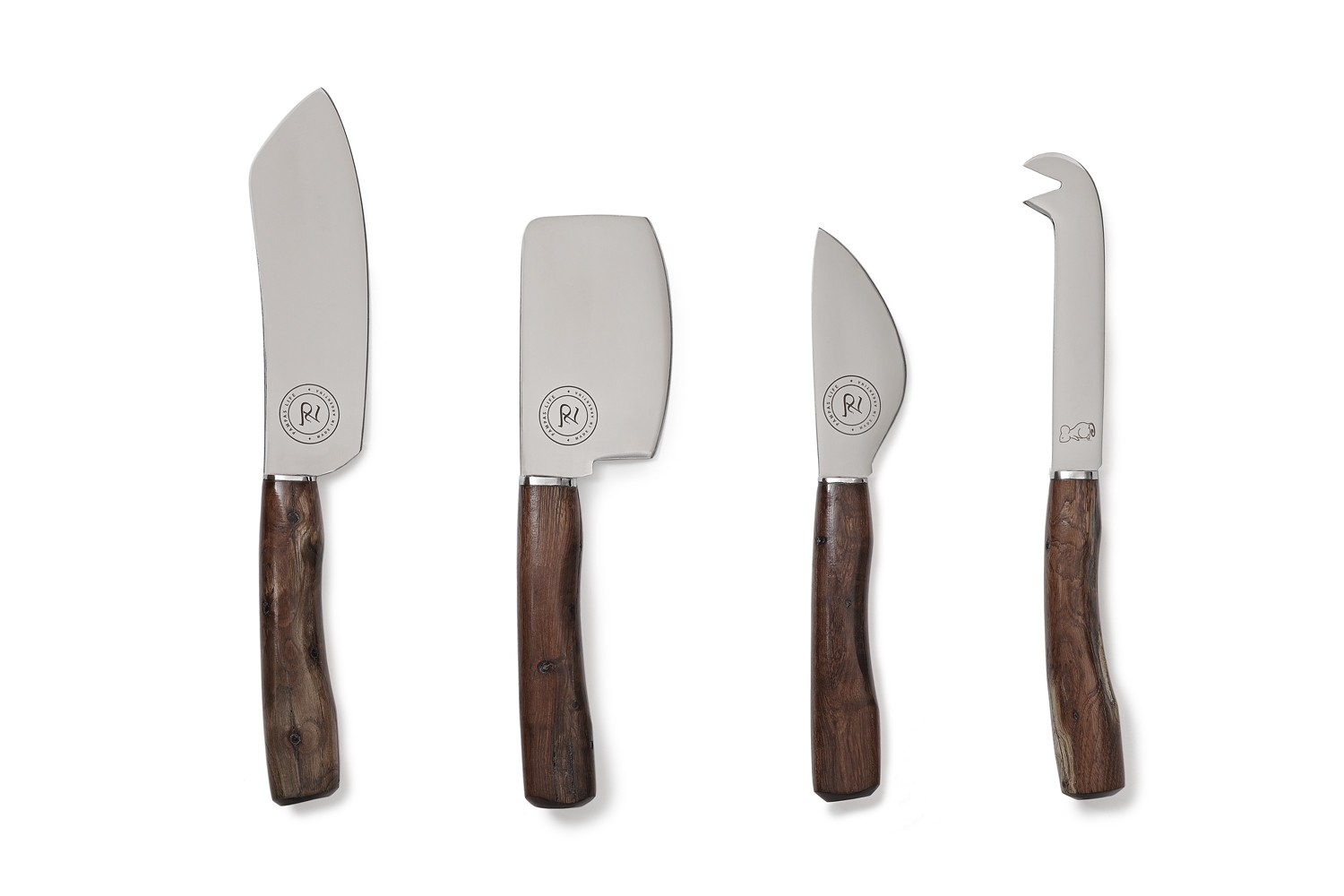 the palo santo cheese knife set